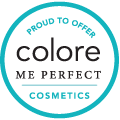 Proud to Offer Colore Me Perfect Cosmetics