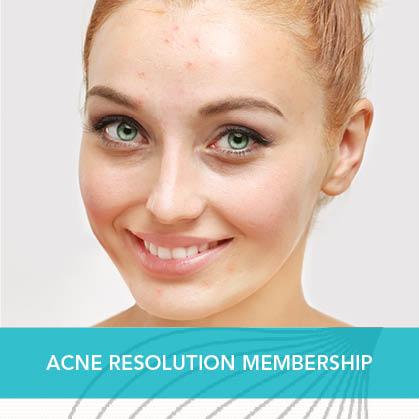 Acne Resolution Membership