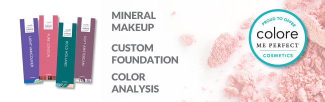 Colore Me Perfect: Mineral Makeup, Custom Foundation, Color Analysis