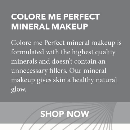 Colore Me Perfect Mineral Makeup is formulated with highest quality minerals and doesn't contain any unnecessary fillers. Our mineral makeup gives your skin a healthy natural glow.