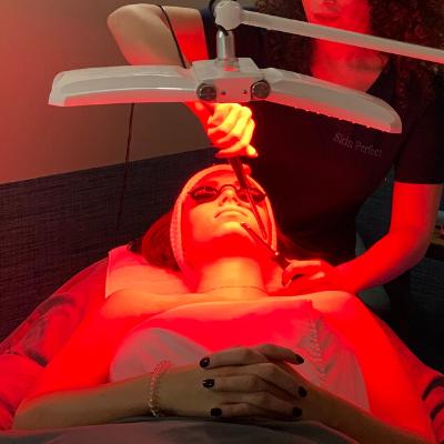 image of red sculpt facial