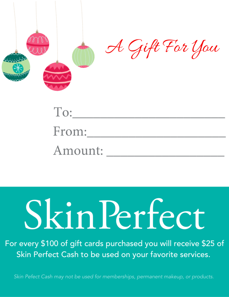 Image of Skin Perfect Spas Gift Card