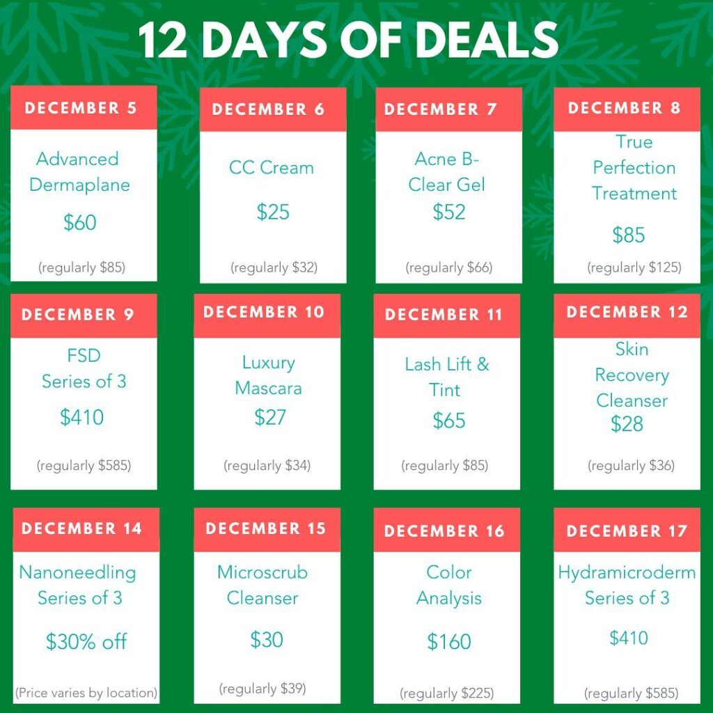 Image of 12 Days of Deals